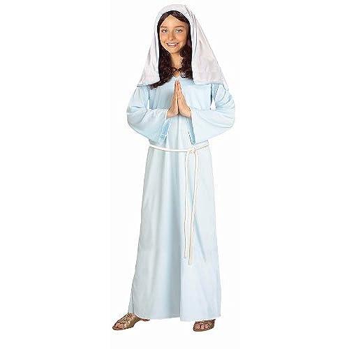 Forum Novelties Biblical Times Mary Costume Child Large  sc 1 st  Amazon.com & Nativity Costumes for Kids: Amazon.com