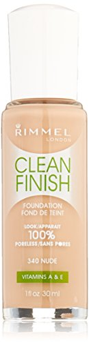 Rimmel Clean Finish Foundation, Nude
