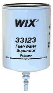 WIX 33123 Spin-On Fuel and Water Separator Filter, Pack of 1