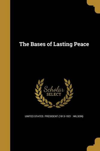 Download The Bases of Lasting Peace PDF