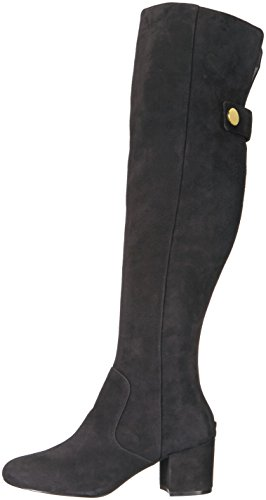 Nine West Women's Queddy Suede Over the Knee Boot, Black, 7 Medium US by Nine West (Image #5)