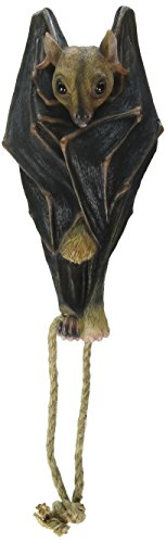 Vampire Bat - Hanging Mega Bat Sculpture - Bat Figure - Halloween (Halloween Graveyard Fence Prop)
