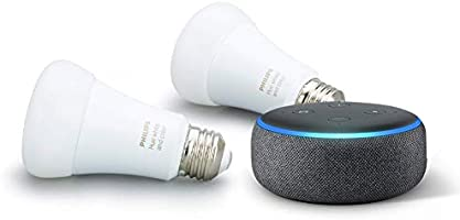 Get up to 60% off on Echo Dot and Hue Smart lighting bundles
