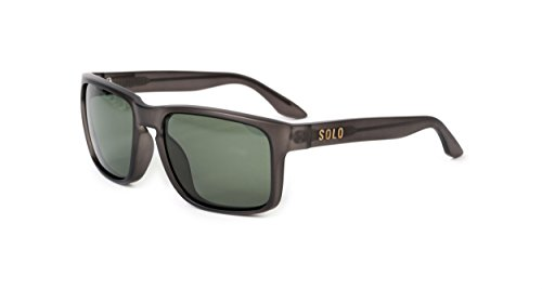 SOLO Eyewear - Recycled Plastic - Sport Matte Transparent Grey - Colombia Sunglasses