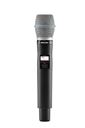 Shure QLXD2/B87C Handheld Wireless Transmitter with BETA 87C Microphone, H50 ()