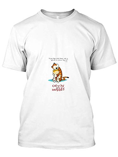 MamonLord Calvin und Hobbes umarmt 82 Tshirt Hoodie Sweater for Men Women Black]()