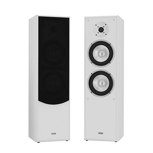1 Paar Standlautsprecher Mohr SL10 weiss Lautsprecherboxen Lautsprecherbox Lautsprecher