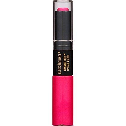 (Black Radiance Dynamic Duo Lip Balm & Gloss, Fuchsia by Black Radiance)
