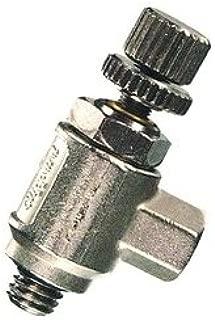 product image for Clippard MNV-4K Miniature Needle Valve, 10-32 Ports with Knurled Knob, 5 scfm @ 100 psig