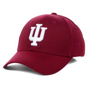 Top of the World NCAA Indiana Hoosiers Memory Fit Wool Blend Hat, One Size, Maroon]()