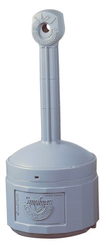 (RTS26800 - Justrite Smokers Cease Fire Cigarette Butt Receptacles)
