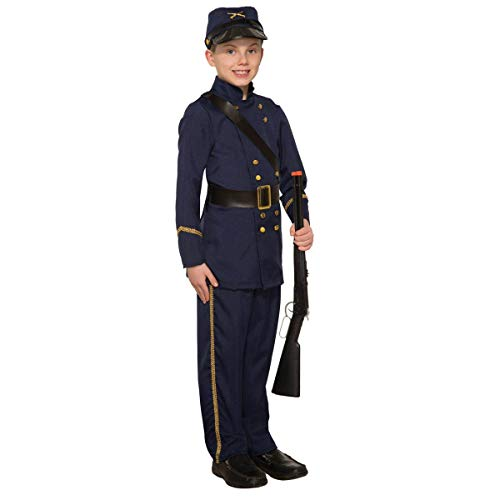 Forum Novelties Boy's Union Civil War Costume, ()