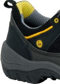 """ejendals 3110–36talla 36""""Grip de luz jalas 3110–Calzado de seguridad negro/gris/amarillo"""
