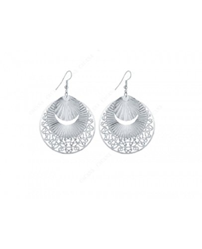 New Dangle long Earrings For Women Sector Shape Round Lovely Earrings