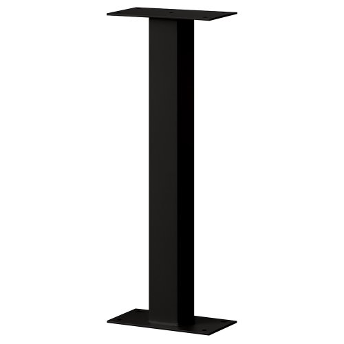 Salsbury Industries 4365BLK Standard Pedestal Bolt Mounted for Roadside Mailbox and Mail Chest, Black