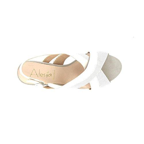 Zeppe By Donna amp;scarpe Blanco Scarpe Alesya qT4w868