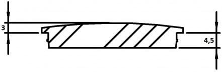 zum Einschlagen massiv mit Nase f/ür Rohr /ø 40,0 x 2,0mm Endkappe leicht gew/ölbt unten verj/üngt