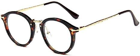 Embryform Retro occhiali rotondi cornice dello specchio pianura uomini e donne faccia religiose selvatici 9580