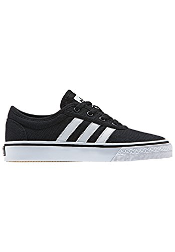 adidas Unisex-Kinder Adi-Ease J Skateboardschuhe, Schwarz Schwarz
