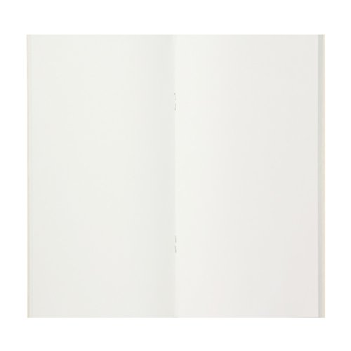 Traveler's Company Traveler's Notebook Refill 013, Lightweight Blank Paper, 128 Pages