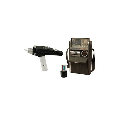 Star Trek White Phaser & Medical Tricorder 2-Pack Case ()
