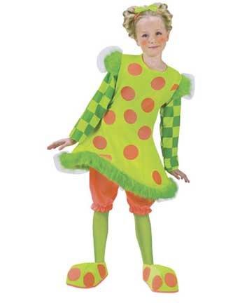 Lolli The Clown Child Large Costume Item - (Clown Lolli Costumes)