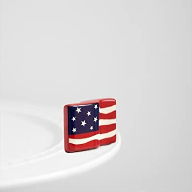 Nora Fleming American Flag Mini - Nora Fleming Stars & Stripes Forever Mini A18