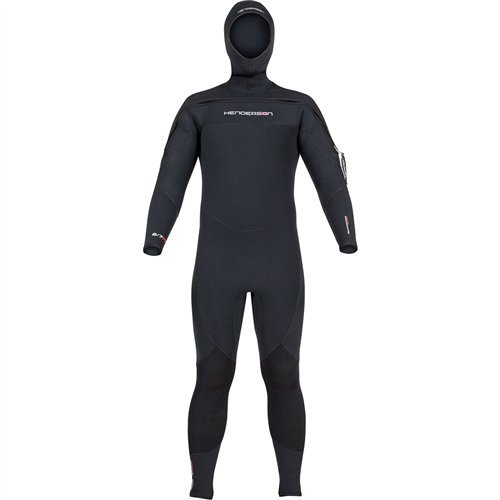 Semi Dry Full Wetsuit - Henderson 2017 Thermoprene Pro Hooded Semi-Dry Jumpsuit
