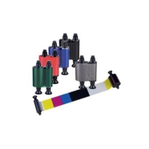 Cinta de impresoras matriciales Evolis R3411 100p/áginas cinta para impresora Tattoo 2, 100 p/áginas, YMCKO