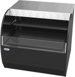 Self Service Refrigerated Display Case (Federal Industries SSRVS3633 Specialty Display Versatile Service Top over Refrigerated Self-ServeCounter Case)