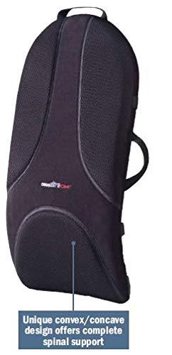 (Complete Medical Backrest Support Enhanced Design Obus, Black, Large, 4.59 Pound)