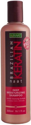 Nunaat Brazil Keratin Shampoo 303 ml (Pack of 2) by Nunaat
