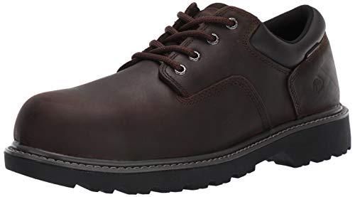 Wolverine Men's Floorhand Oxford Steel Toe Construction Shoe, Brown, 11 M US (Mens Steel Toe Work Oxford)
