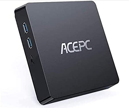 ACEPC T11 Mini PC, 8GB RAM+128GB ROM, Windows 10 Pro, Intel Atom Z8350,Soporta SSD/HDD de 2.5 Pulgadas, 4K HD/Dual WiFi/Bluetooth 4.2 Mini computadora