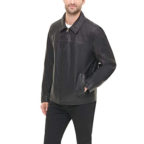 Dockers Men's Faux Leather Jacket (Standard and Big & Tall)