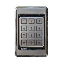 Essex KTP-103-SN Single Gang Keypad Reader 26 Bit Wiegand 12 Pad (Single Gang Readers)
