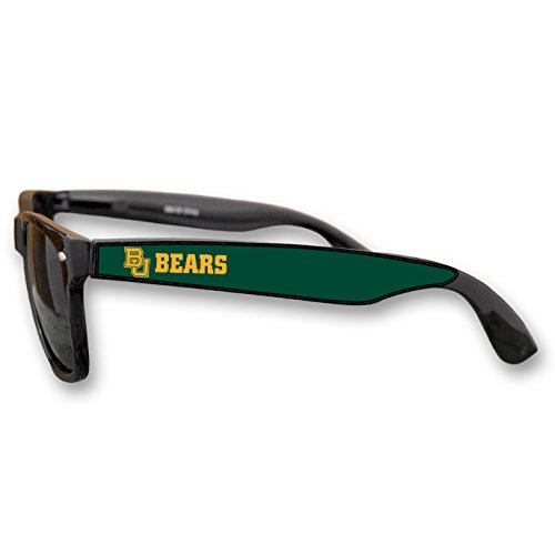 Baylor Bears Black Plastic Frame Classic Sunglasses with - Fraternity Gift