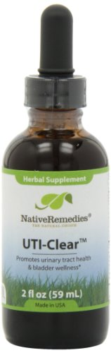 Native Remedies UTI-Clear for Urinary Tract and Bladder Health, 59 ml