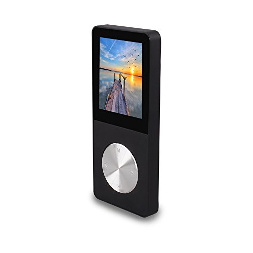 CetNova 8GB Portable Digital MP3 Player with Photo Viewer-Black