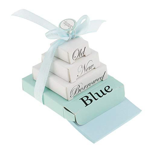 (BROSCO Special Mini Nesting Box Bridal Something Old New Borrowed Blue Note Planner)