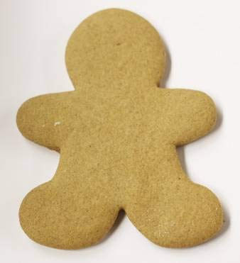 Scott S Cakes Hand Rolled Fresh Baked Undecorated Large Christmas Gingerbread Men