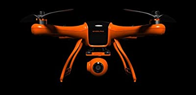 WINGSLAND 2.4G 10CH POI FPV Quadcopter with GPS Auto Return Function, 1290*1080 HD Camera with Monitor and Intelligent Flight Battery