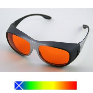 2ab99bcd95 Image Unavailable. Image not available for. Colour  BLUE BLOCKING  WRAPAROUND SLEEP GLASSES