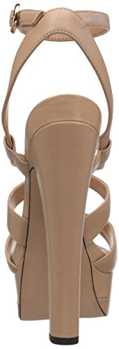ALDO Women's Alesen Platform Dress Sandal, Bone, 6.5 B US