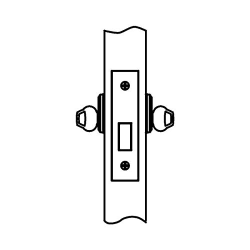 Corbin Russwin DL4112-626 Double Cylinder Mortise Deadlock w/ Conventional 6-Pin