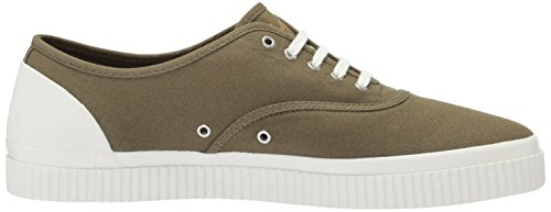 Perry British Sneaker Canvas Olive Fred Barson dSqIwzvdg
