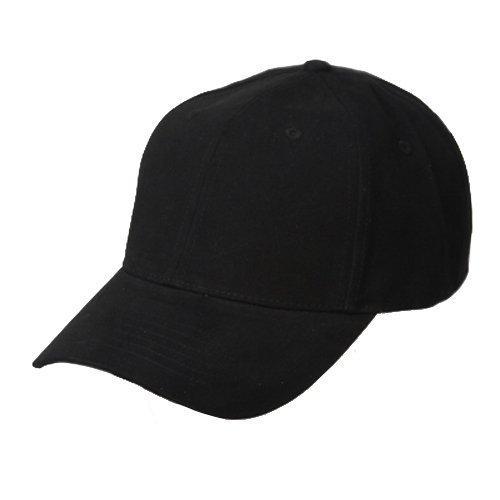 Deluxe Cotton Cap - New Deluxe Cotton Cap-Black W32S49C (One Size)
