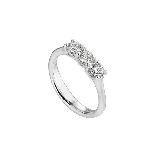 Bague World Diamond Group Grace abtretril0.34or blanc diamant