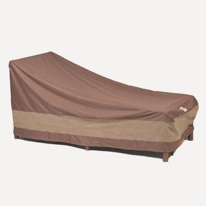Duck Covers Ultimate Patio Chaise Lounge Cover, 80-Inch (Double Chaise Lounge Cover)