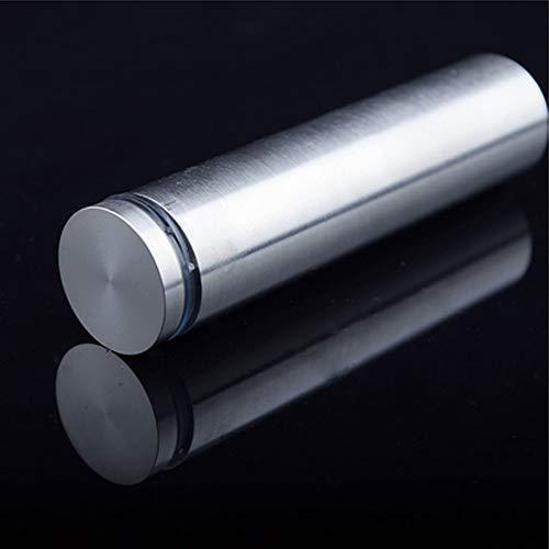 Ochoos 10Pcs/lot 25100mm Solid Stainless Steel Glass Balcony Fastener Advertisement Screws Shipping